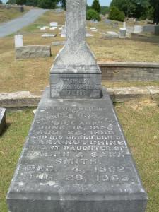 Bill Arp's grave