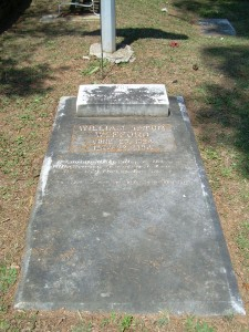 General William Tatum Wofford's grave